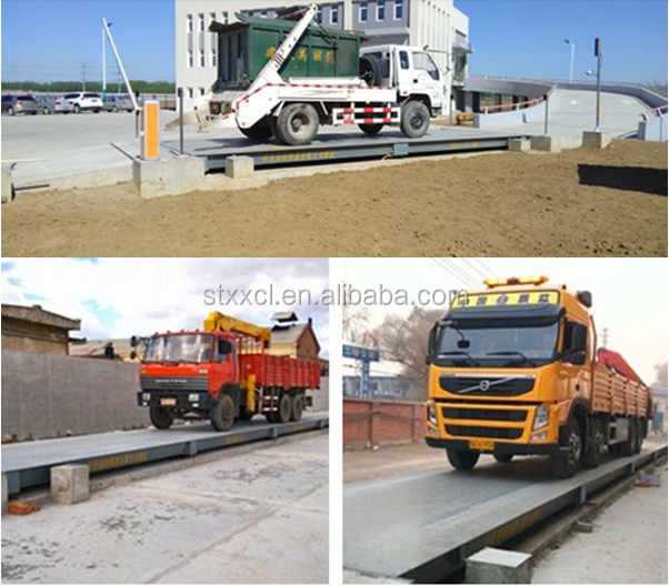 3*16 m 80t Weighbridge Truck Scale Weighing with factory price