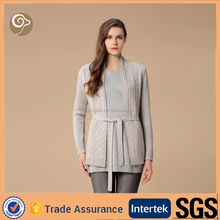 Wholesale women handmade knit wool sweater
