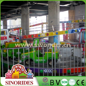 Professional family entertainment machines amusement park train rides for sale