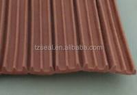 E profile seal EPDM Sponge Window&Door Seal with adhesive self
