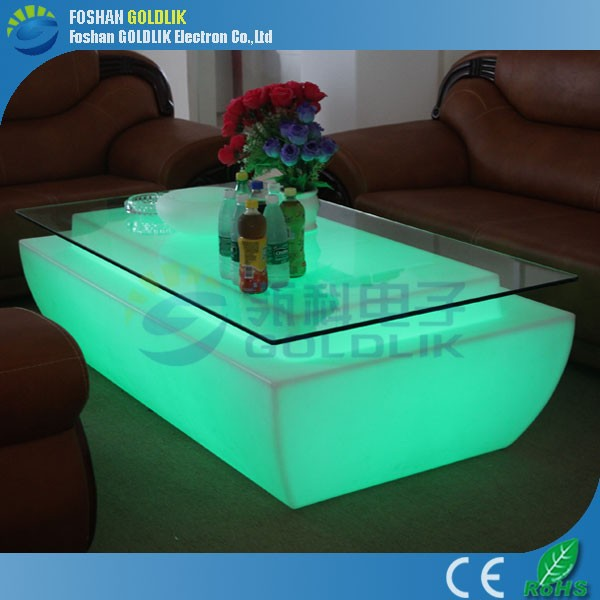 LED Cyber Cafe Furniture With 16 Colors GKT-049AT