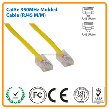 5ft Cat5E 350 MHz UTP Yellow Aseembled Ethernet Network Patch Cable