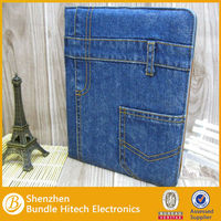 Good quality jean material case for ipad mini, and for ipad 2/3, welcomed by fashion person!!!