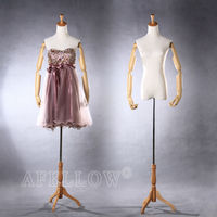 M005-A5W Afellow Mannequin Female half body torso mannequin with arms plastic arms Fiberglass mannequin