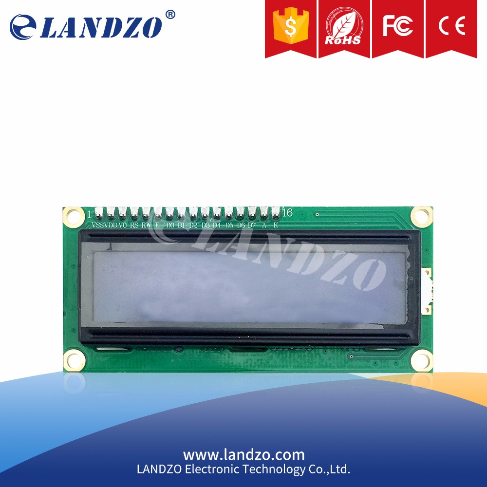 LCD1602 module arduino 5V lcd 1602 blue screen Character LCD Display Module Blue Black light2d arduino barcode scanner