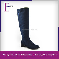 T799-S675 NAVY over knee long boots ladies thigh high