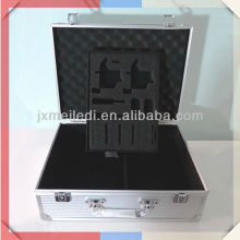 MLDGJ420 Silver Superior Quality Hard Aluminium Tool Case With EVA Cutting