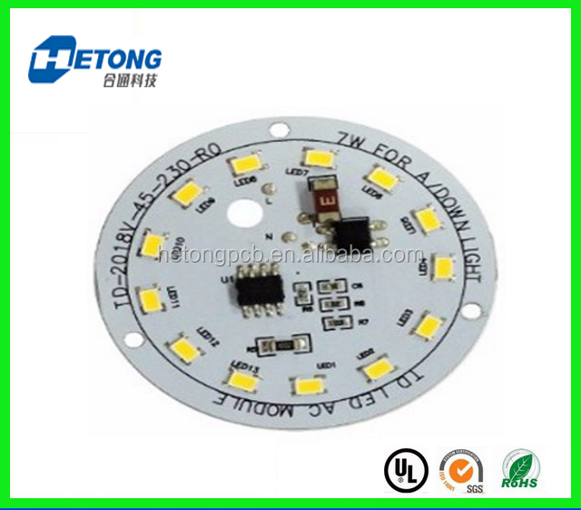 Aluminum Base LED Bulb PCB, Rigid LED PCB Module with good manufacturer in China