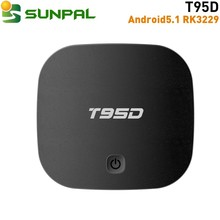 t95d android set top box 1g/2g ram 8g/16g rom with blut-tooth bt4.0 Apps download from Android Market