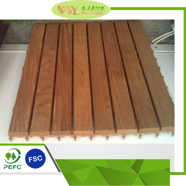 High Quality Indonesia Merbau Solid Wooden Decking Flooring Solid Wooden Floors
