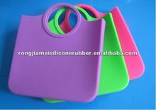 Eco-friendly fancy silicone jelly shopping bags 2012 hot sale with cheap price