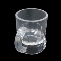 China Manufacture 1oz/30m PS Wholesale Shot Glass,Plastic Split Shot Glass,Plastic Hanging Shot Glass