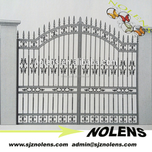 Alibaba China new product main gate design /wrought iron driveway gates/antique wrought iron gates