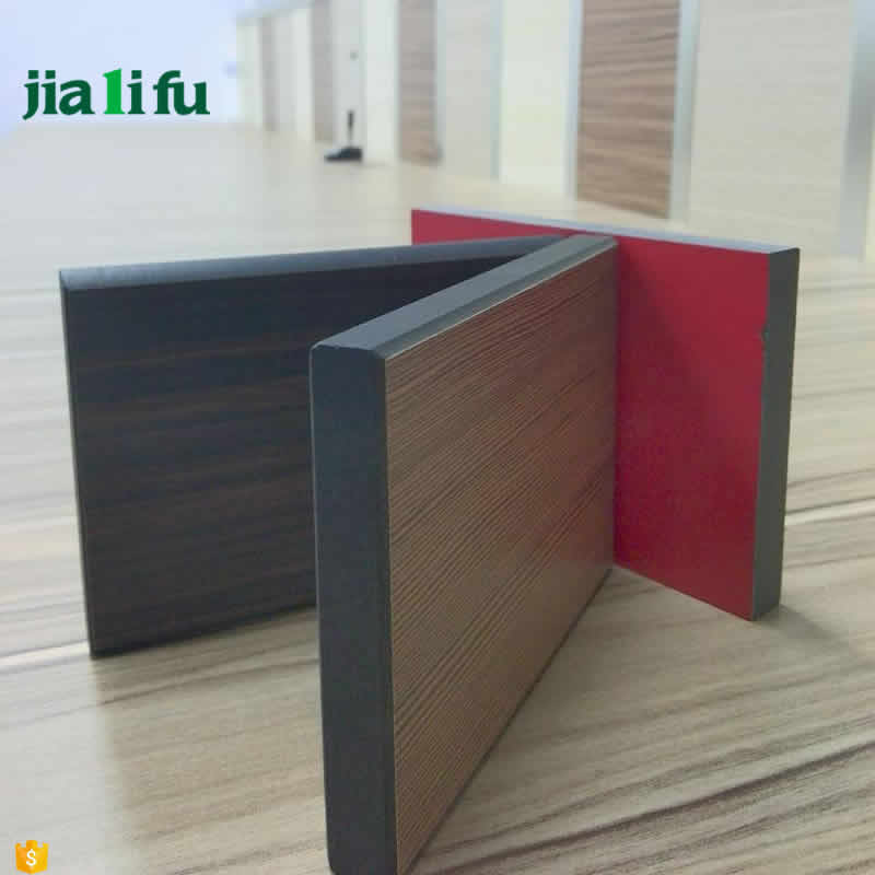 Water resistant compact laminated wood walls panels