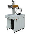 30W Fiber Laser Marking Machine for Stainless Steel Advertising Industry