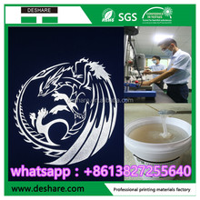 dongguan manufacture silicone reflective ink for garment screen printing
