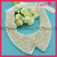 beaded neck design for clothes WNL-1220