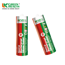 High Adhesion Green Color Neutral Silicone Sealant
