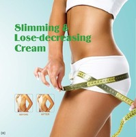 Professional organic ingredient fast effect slimming cream
