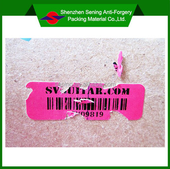 Hot Sale Hight Quality Anti-counterfeit Barcode Label