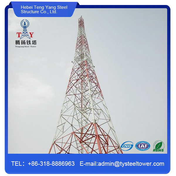 Galvanized Angle Steel Communication Tower