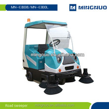 tow road sweeper, street sweeper/floor cleaning machine/vacuum sweeper truck