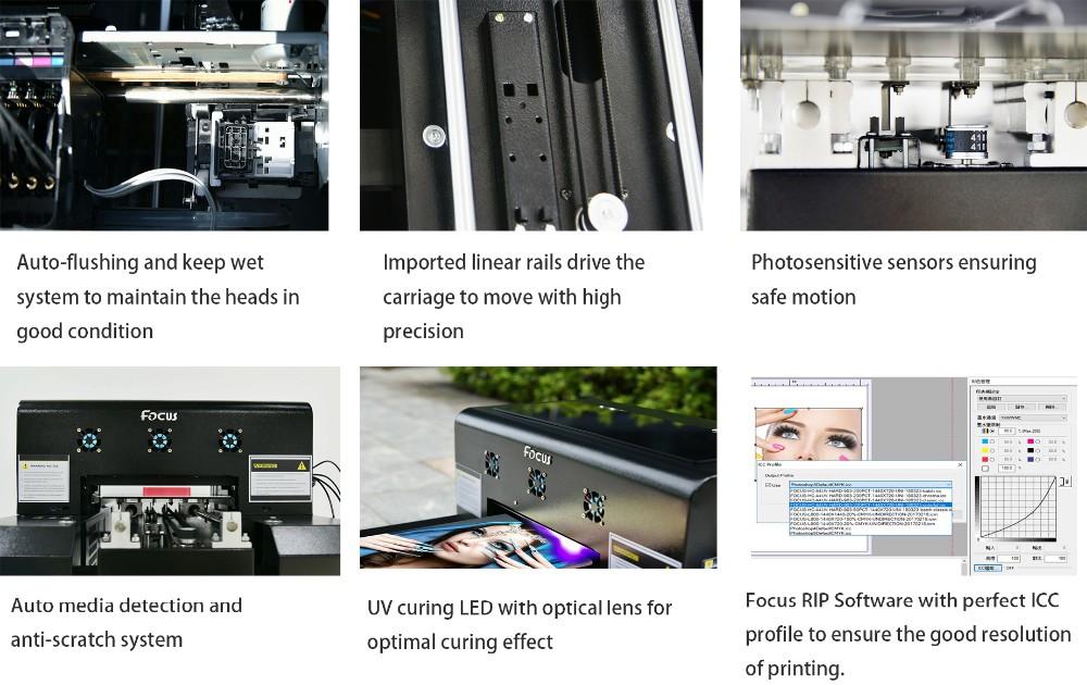 inkjet portable direct uv printer a4