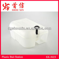 Rat & mouse bait station can set poison glue trap SX-5023