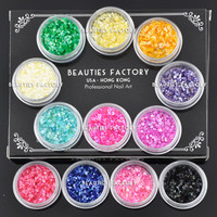 Beauties Factory 12 color Crushed Shell Chips