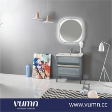 2017 Modern Bathroom Design LED Mirror Cabinet