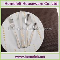 forks and knives steak cutlery set