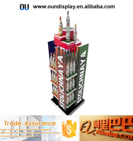 rotating wine bottle beer bottles display stand custom acrylic glass display cases