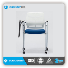 ergonomic office chair with table attachment