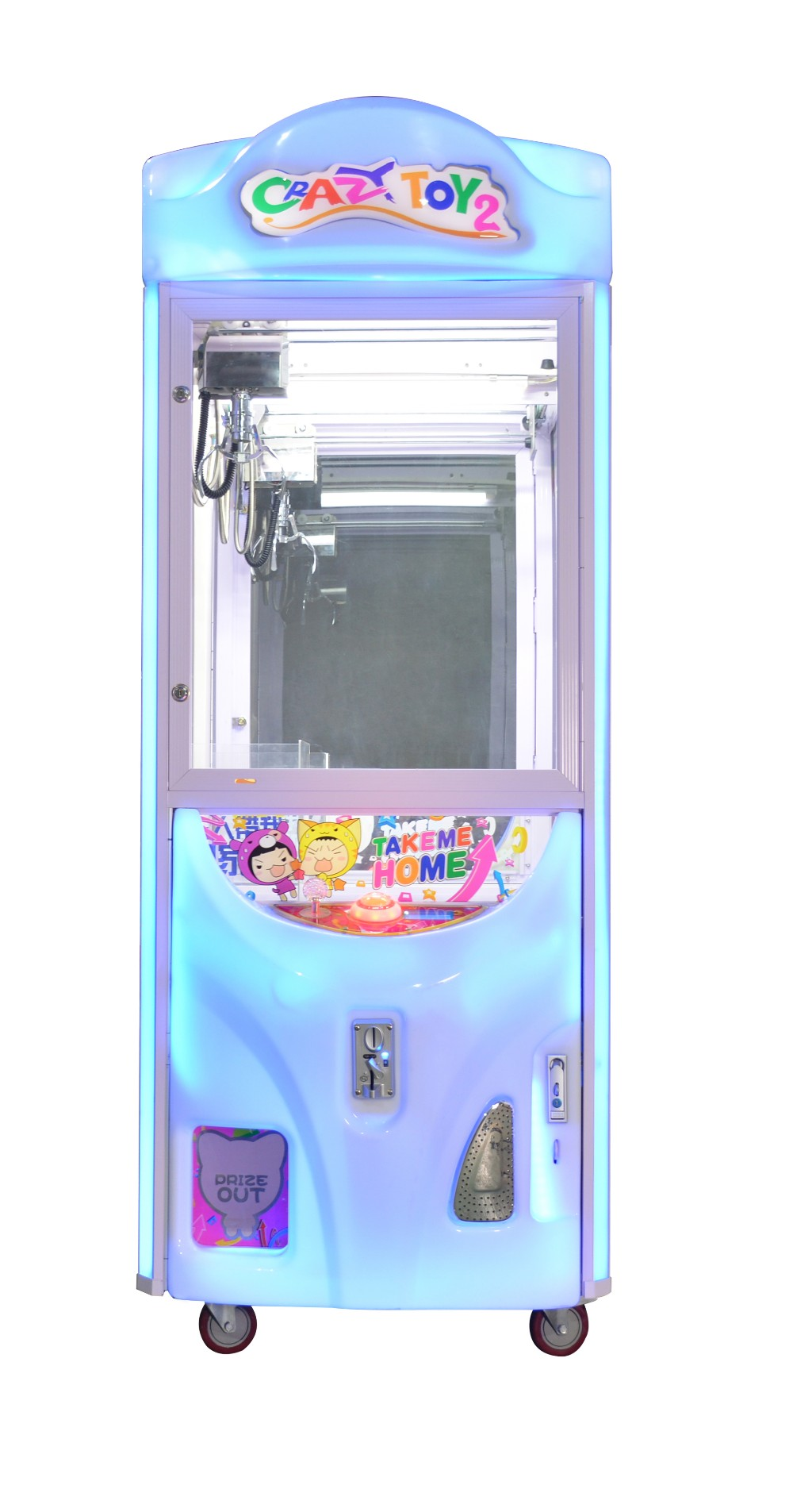 Cheap arcade games claw vending machine skill crane game machine for sale
