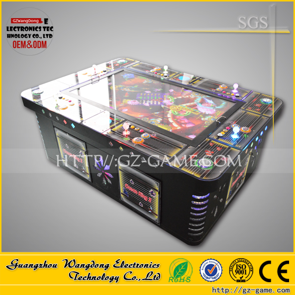 Design professional top quality tropical fish-game seafood paradise machine
