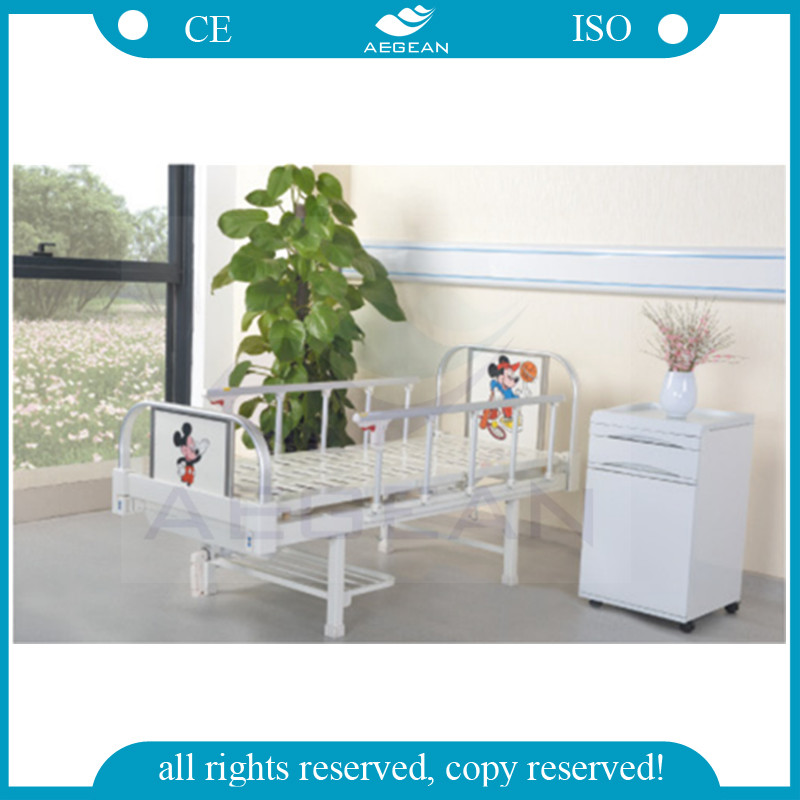 AG-CB001 Steel material 1-function hospital childrens furniture