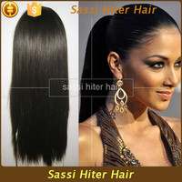 100% Tangle Free Hot Selling High Ponytail Full Lace Wigs