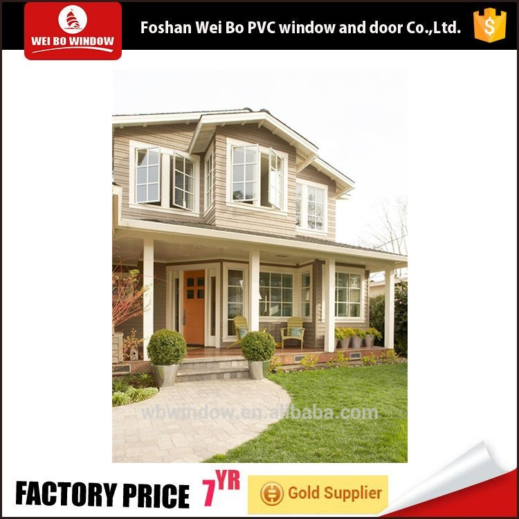 wholesale quality window grill design Type Casement Windows Open Style