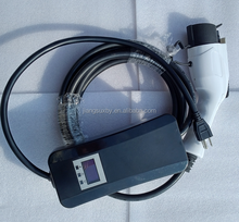 16A 32A 120V 240V SAE J1772 Charging Connector Mode 2 Level 2 ev charger for Electric Vehicle