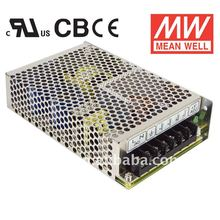 MW UL/CB/CE NED-75 Dual Output Switching Power Supply / SMPS / PSU / LED Driver