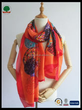 Popular hot sale turkey silk scarf