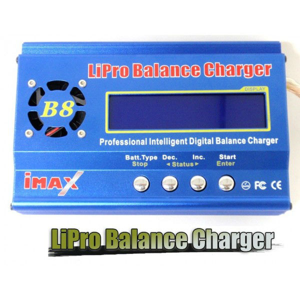 iMAX B8 RC R/C Plane Car LiPo LiIon LiFe NiCd NiMh Battery Balance Charger