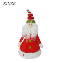 Musical dancing Christmas santa claus hat