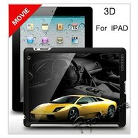 2012, 3D Car Tablet Case for Apple iPad, 3D Screen Guard for Apple iPad