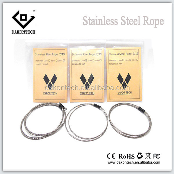 Stainless Steel Oil Wick used E-cig / oil wick for E-cigarette / Guide Oil Wick for Electronic cigarette