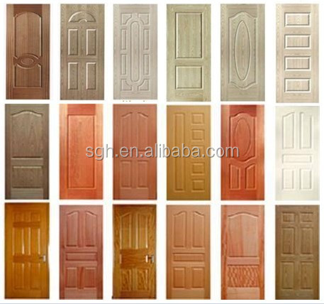 Moulded MDF/HDF Door Skin with good price