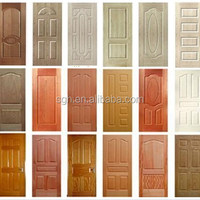 Moulded MDF HDF Door Skin With