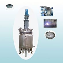 JCT brake lining adhesive making reactor