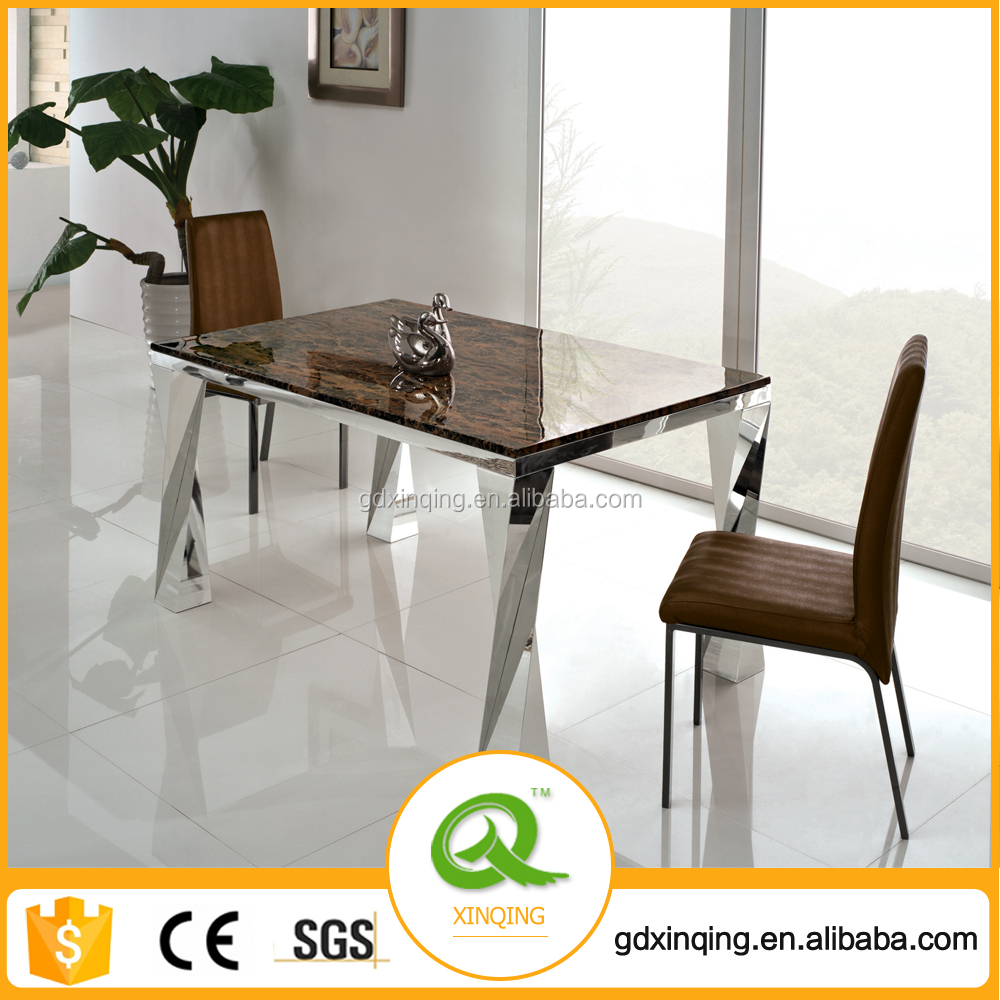 TH308 Stable Stainless Steel Dining Table 12 Seater Dining Table