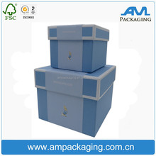 Chipboard Box Custom Printing with Magnet Closure Rigid Set Up Box